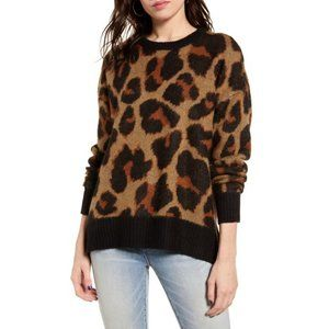 BAND OF GYPSIES Bronzer Pullover Sweater